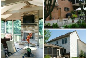 Outdoor Living Collage