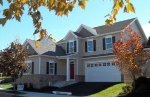 custom built home by Metzler Home Builders at 204 Weatherfield Place