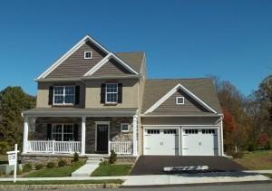 custom built home by Metzler Home Builders at 307 Weatherfield Place