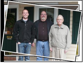 3 Generations of Metzlers - L to R: Jordan, Dan and Roy