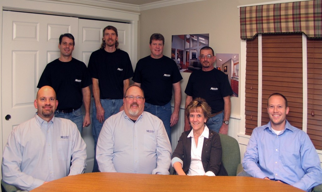 metzler home builders team photo