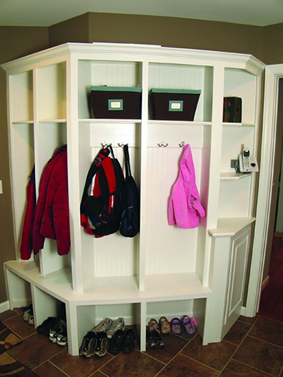 locker/coat space