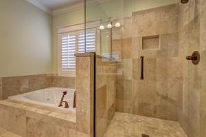 Metzler Blog - Glass Bathroom