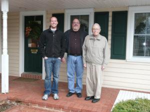 3 generations of Metzler Home Builders
