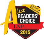 A List Readers' Choice 2015 logo