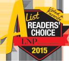A List Readers' Choice 2015