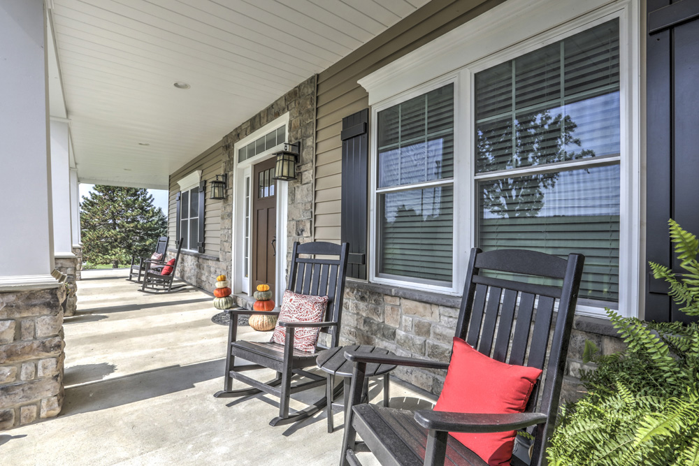 Country Style Home Porch