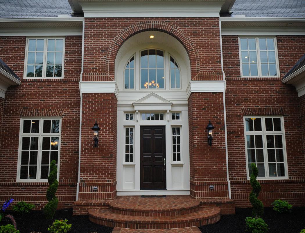 brick home exterior