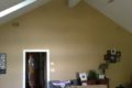 before family room with vaulted ceiling