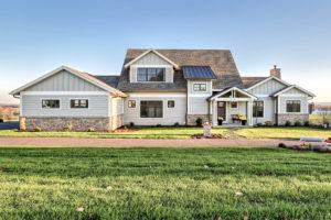 custom home built by metzler home builders