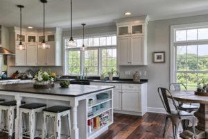 custom kitchen built by metzler home builders