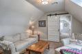 country farmhouse attic seating area