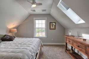 country farmhouse attic bedroom