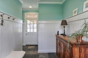 country farmhouse coatroom