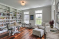 country farmhouse library