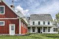 country farmhouse exterior