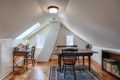 after photo of renovated attic