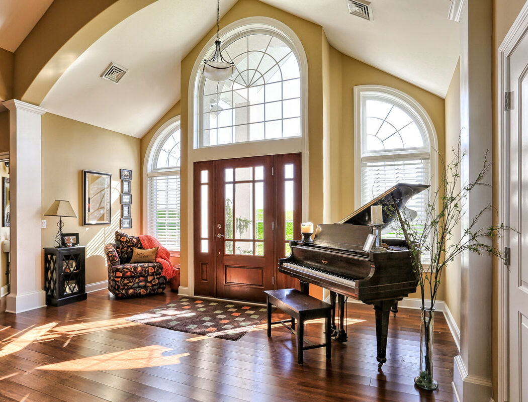 large entryway