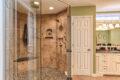 a new metzler bathroom with walkin shower