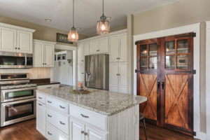 craftsman cottage kitchen island