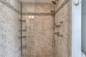 craftsman cottage master shower