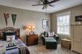 craftsman cottage guest bedroom