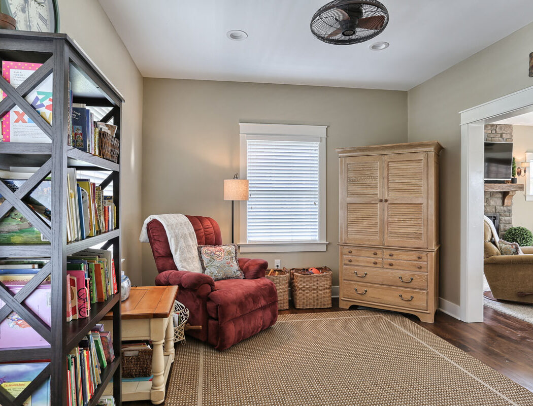 craftsman cottage library