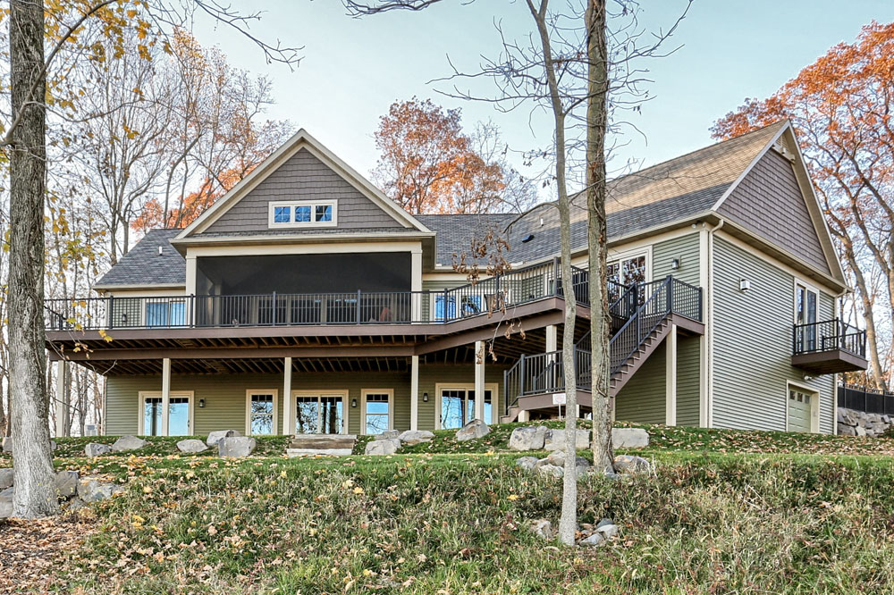 one story home exterior - Built by Metzler Home Builders