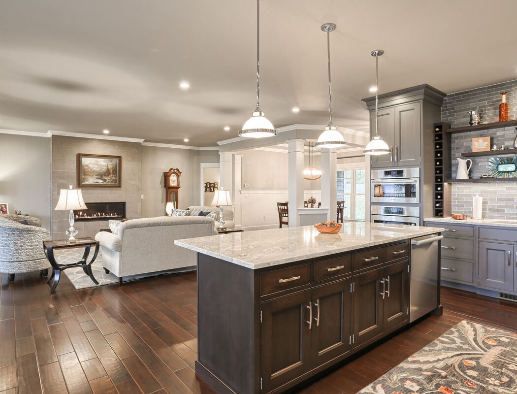 kitchen living room flow