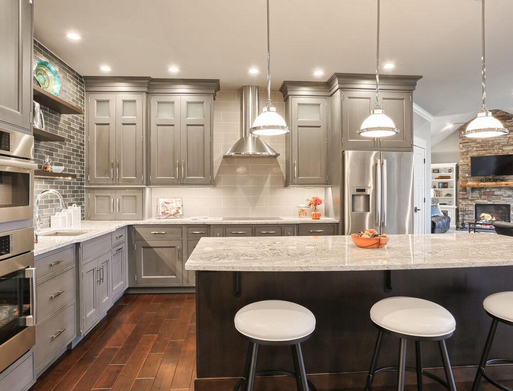 breakfast bar kitchen cabinets