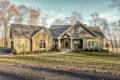 new home exterior - built by lancaster home builders Metzler