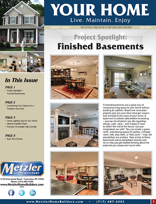 Metzler 'Your Home' Newsletter PDF cover for Volume 5 Issue 3