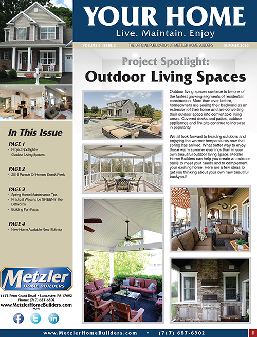 Metzler 'Your Home' Newsletter PDF cover for Volume 6 Issue 2