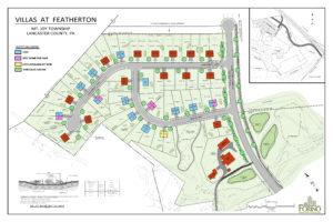 Villas at Featherton plot plan