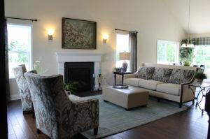 Villas at Featherton living room area