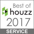 Best of houzz Service 2017 logo