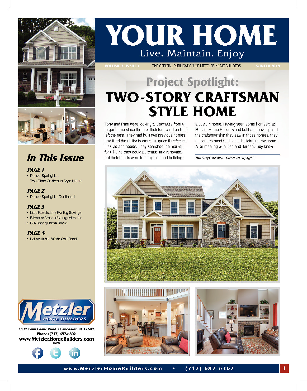 Metzler Home Builders Blog