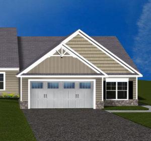 Villas at Featherton Lot 100 3d rendering