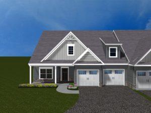 Villas at Featherton Lot 20 3D rendering