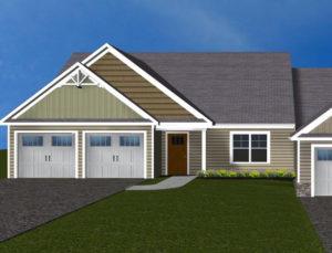Villas at Featherton Lot 99 3d rendering