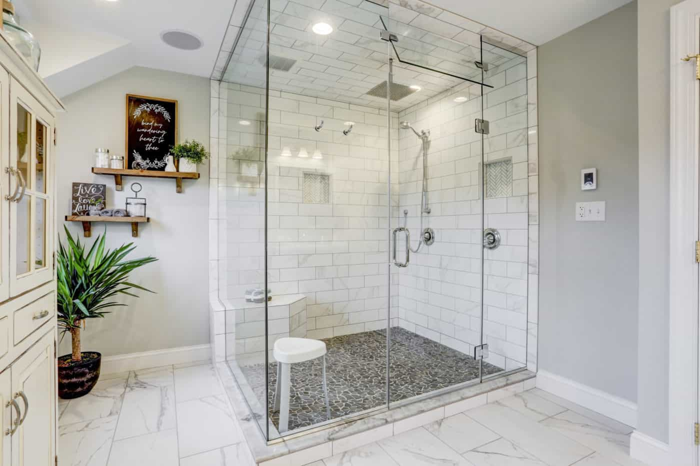 master bathroom remodel in lancaster, pa