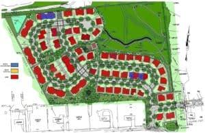 Willow Bend Farm plot plan rendering