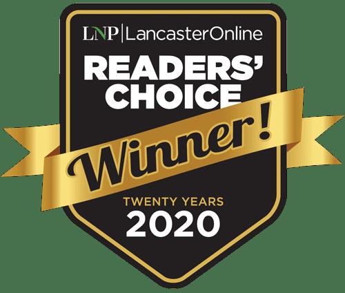 A List Readers' Choice 2020 logo