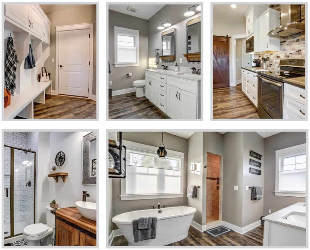 custom home interiors by metzler home builders