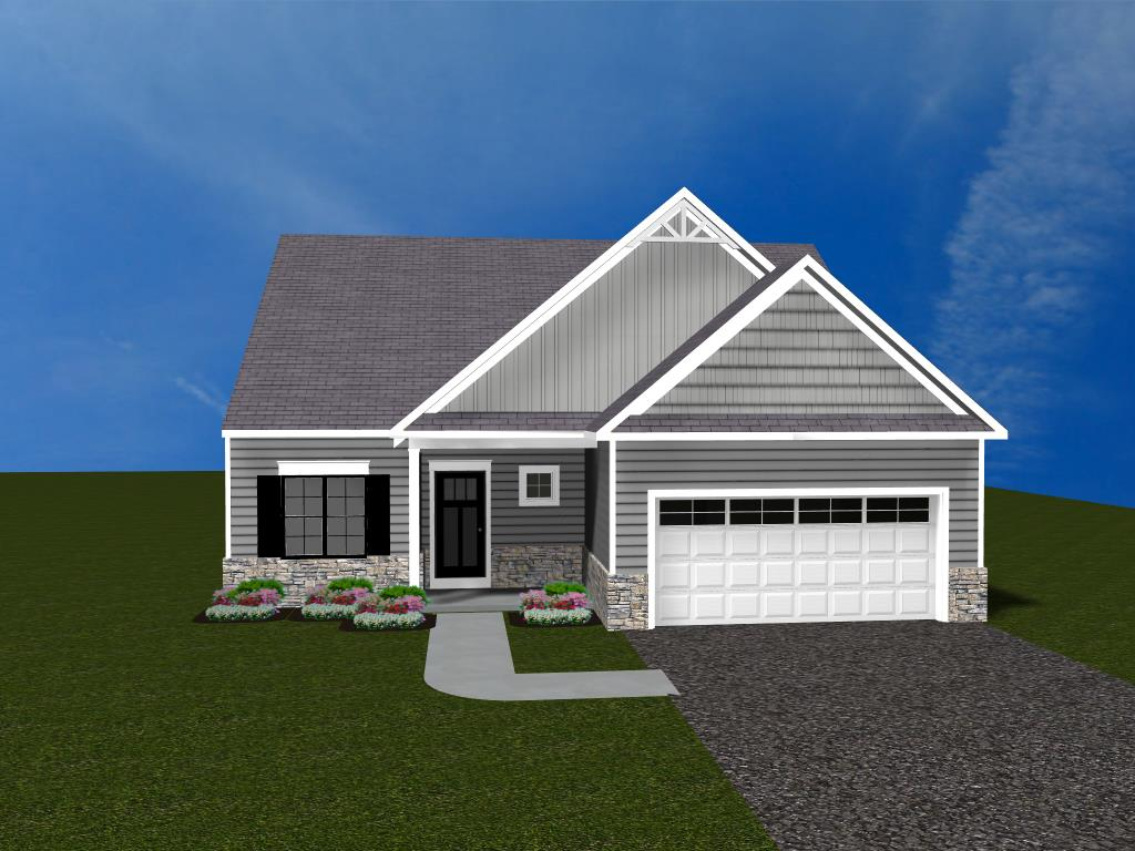 Lakes at Donegal Springs Lot 116 - 3D home exterior rendering